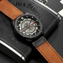 2018 Men's Military Sport Quartz Watch Curren Watches Men Brand Luxury Leather Waterproof Wristwatch Man Clock Relogio Masculino