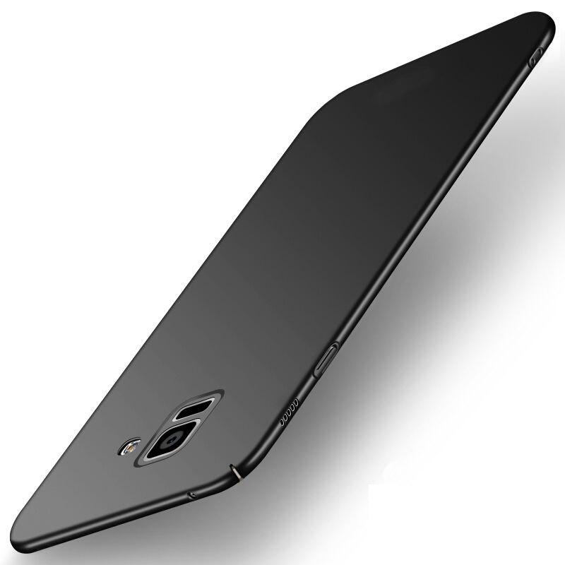 Case For Samsung Galaxy J1 2016 J3 J5 J7 Prime Back Cover Cases For Samsung Galaxy A6 A8 J4 J6 J8 2018  Full Hard PC Matte Cover