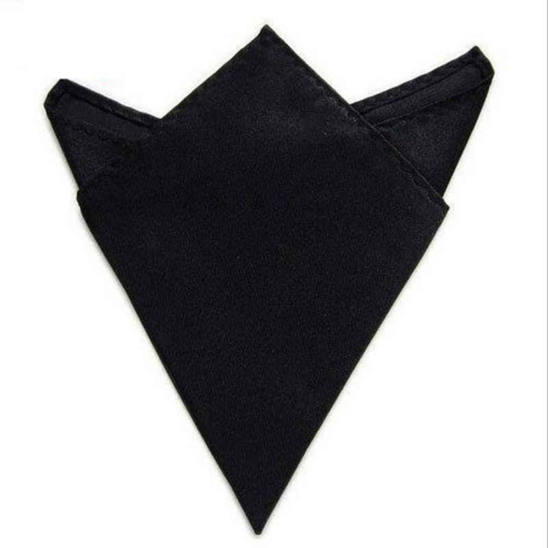 1 шт. черный, белый, винно-красный атласный Шелковый мужской Карманный квадратный платок Hankie Свадебный формальный костюм Блейзер аксессуары