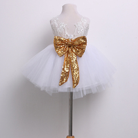 0 10T New Fashion Sequin Flower Girl Dress Party Birthday Wedding Princess Toddler Baby Girls Clothes