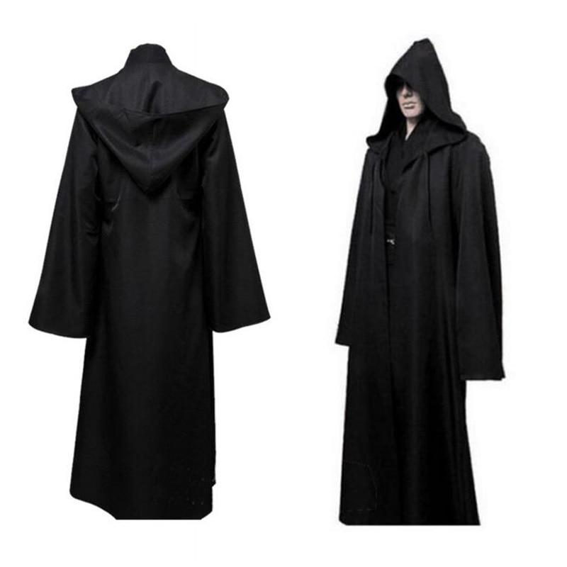 Star Wars Jedi Warrior Cloak Cosplay Adult Men's Hooded Robe Cloak Gladiator Garment Heat