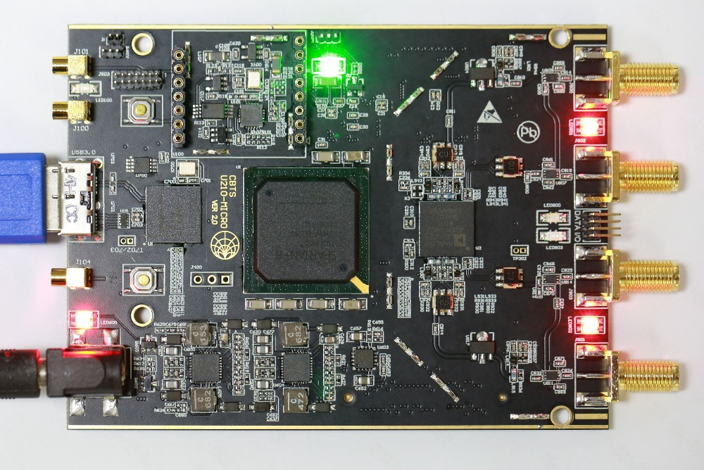 Compatible version USRP-B210 MICRO+ version Fully compatible with USRP driver, support for band preselector