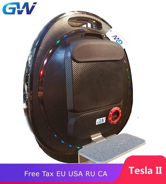 Le plus nouveau GOTWAY Tesla 16 pouces monocycle électrique Balance voiture unique une roue scooter 2000 W moteur 1020WH, vie 60-80 km, vitesse 55 km/h +