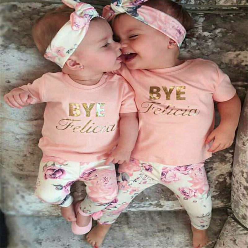0ff09a9419a7 Princess Style Newborn Baby Girl Clothes Bow Flowers Clothing Set Headband  3 PC Cute Infant Cirls Pant T shirt