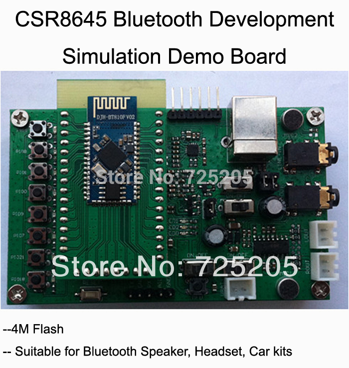 CSR8645 Rom Version Development Simulation-Board Demo Free Shipping fast free ship csra64110 development board development resources debug board demo board emulation board