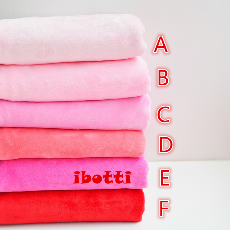 50*160cm New super soft coral fleece Fabric Meter Plush Telas Tissus Patchwork Sewing Textiles Handmade Peluche Costura Tissus