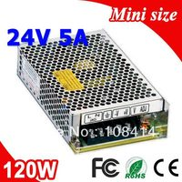 MS 120 24 120W LED Transformer 24V Power Supply 5A from 110V 220V AC to DC Output