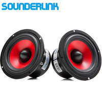 Audio Labs Top End 4 Woofer Subwoofer FULL RANGE Raw Speaker Driver For DIY Home Theater
