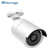 Techage Мини H.265 CCTV 4.0MP 48 В POE Ip-камера 2592*1520 ИК Открытый ONVIF Водонепроницаемый H265 HD Видео Видеонаблюдения Cam