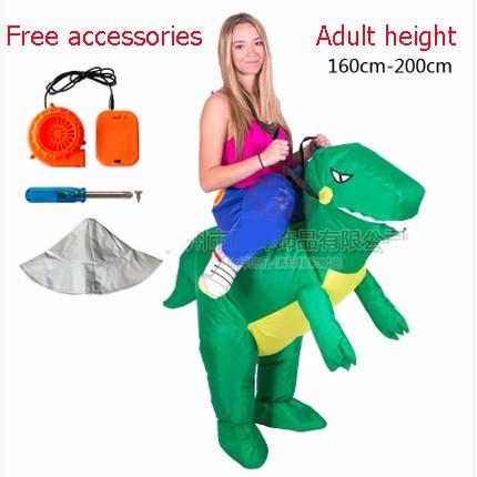 DB23985 inflatable dinosaur costume-6