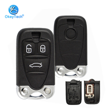 OkeyTech Car Remote Key Shell for Alfa Romeo 159 Brera 156 Spider 3 Button Housing With Insert Blade for Alfa Smart Key Fob Case цены онлайн