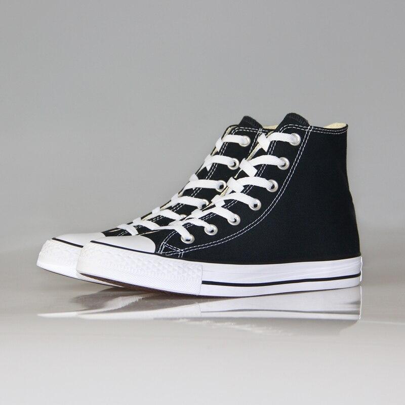 Nowy oryginalny Converse all star Klasyczne niestarzejące się wysokie, buty damskie i męskie trampki i półbuty