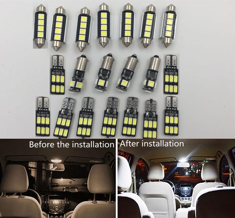 Aliexpress Com Buy Caiwei A6 4200 Lumens Full Hd 1080p: Aliexpress.com : Buy 19pcs Car LED Light For Audi A6 C6