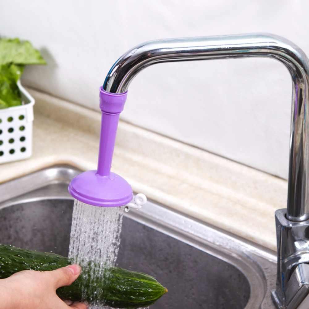 Criativo torneira da cozinha ajustável torneira de poupança água para a cozinha de água tomada chuveiro cabeça água sprinkler