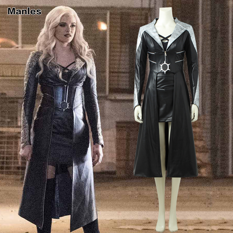 The Flash Killer Frost Cosplay Costume The Flash Season 3 Superhero Outfit Fancy Dress Halloween Carnival Adult Women Clothes