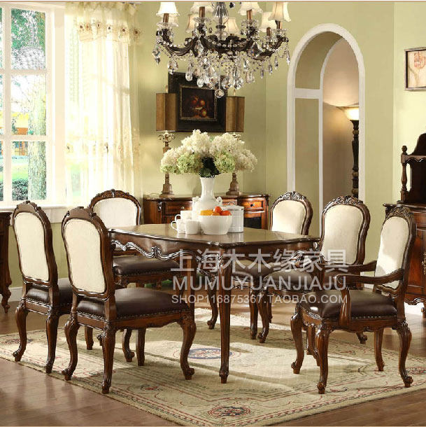 Continental Restaurant dinette wood dining tables and chairs ...