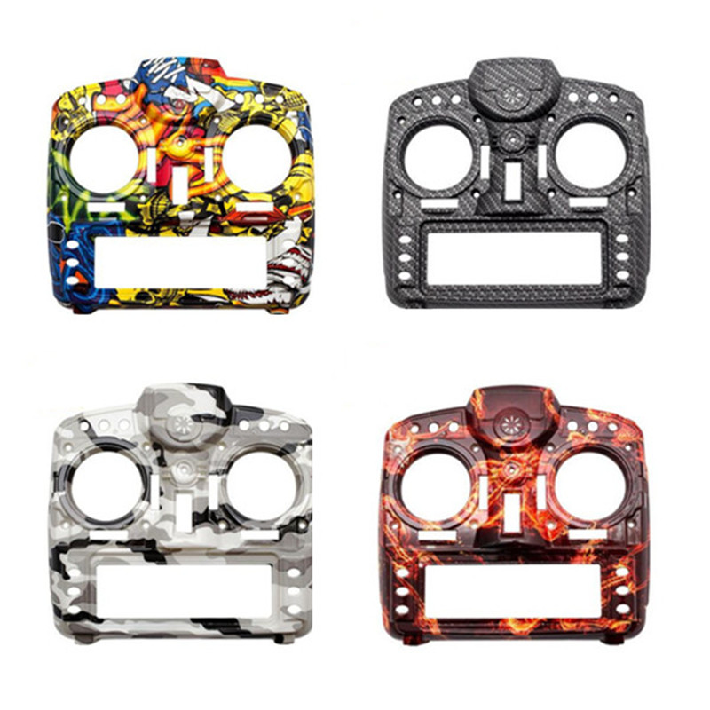 Orginal Frsky Taranis X9D Plus Transmitter Spare Part Carbon Fiber / Rock Monster Custom Shell Case For RC Multicopter new 2 4g 8ch receiver ppm sbus output for frsky x9d plus xjt djt dft dht for rc multicopter fpv racing camera drone spare parts