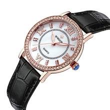 Watch Ladies Casual Leather Watch Analog Sport Wristwatch Quartz-watch Relogio Masculino Luxury Wrist Watches Luxury Women цена и фото