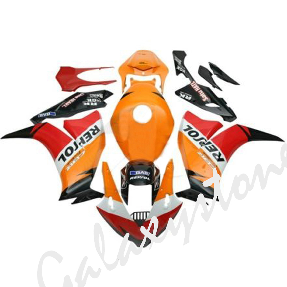 Repsol ABS Plastic Fairing Body work Kit For Honda CBR 1000RR 2012 2013 2014 2015 2016 full fairings for honda cbr cbr600rr f5 year 13 14 2013 2014 abs plastic motorcycle fairing kit bodywork cowling asia pata