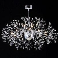 Işıklar ve Aydınlatma'ten Tavan Işıkları'de Güzel tasarım modern kristal tavan lambaları oturma odası için