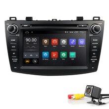 "IPS 8 ""2 din car dvd radio stereo Android 8.1 GPS per mazda 3 mazda3 2010-2013 Wifi bluetooth multimedia registratore a nastro navi DAB +"