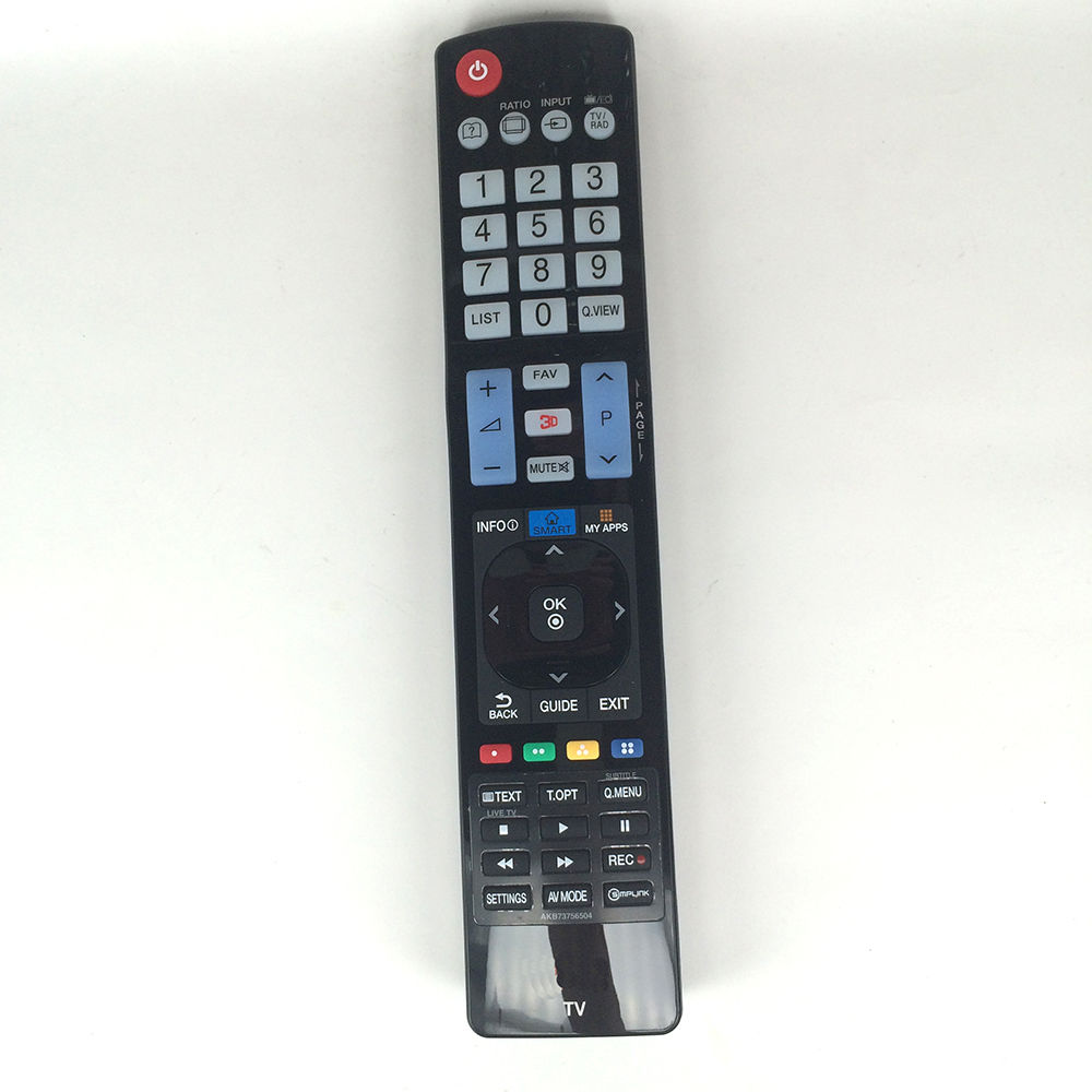 (10pcs/lot) Hot Sell Remote Control For LG 60LA620S AKB73756504 32LM620T AKB73275618 AKB73756502 TV free shipping