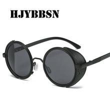 5043b95842 HJYBBSN Moda hombre gafas de sol polarizadas Aviador mujeres Sun Glass  UV400 gafas Retro marco Circular gafas