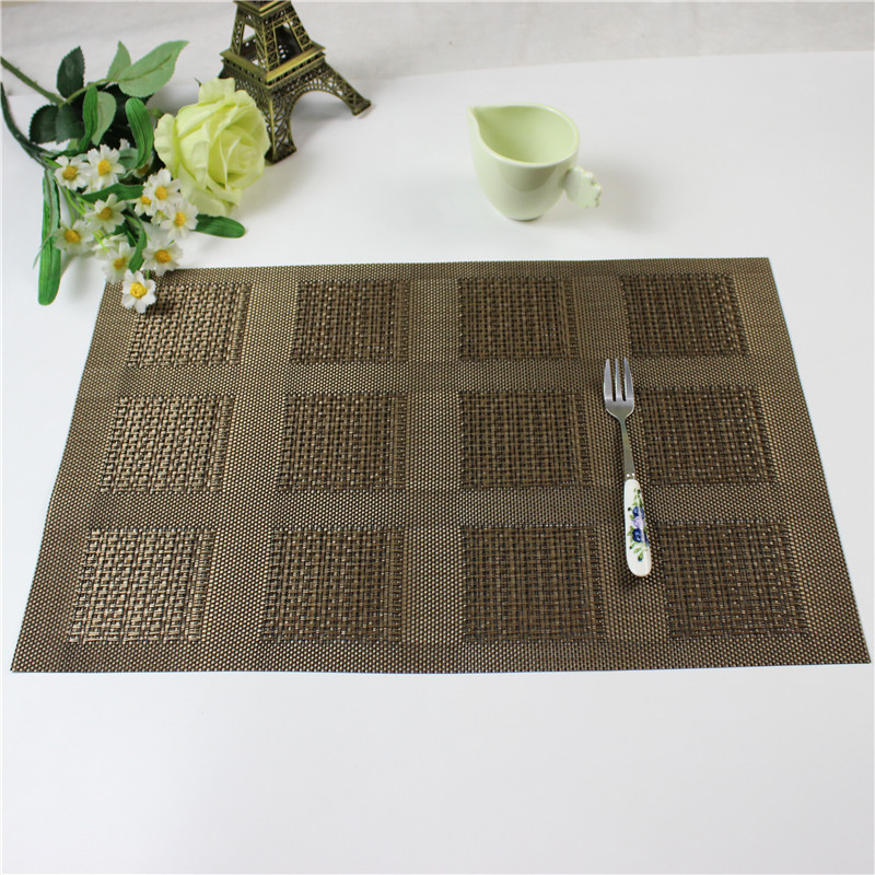 4pcs Lot Pvc Placemat Bar Mat 30 45cm Plate Mat Table Mat