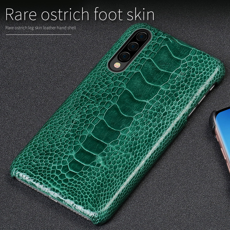 Luxury Real Ostrich Leg leather For samsung a50 case funda Shockproof back cover For Samsung Galaxy A70 Full protection 360 caseLuxury Real Ostrich Leg leather For samsung a50 case funda Shockproof back cover For Samsung Galaxy A70 Full protection 360 case
