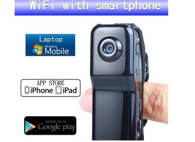 16GB Card+Mini Wifi Ip Wireless Surveillance Camera Remote Cam Support Android Iphone PC Viewing