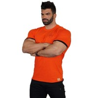 2017Brand muscle guys Mens gyms T shirt bodybuilding and fitness men cotton singlets tops Plus size T-Shirt Sleeve Tshirt