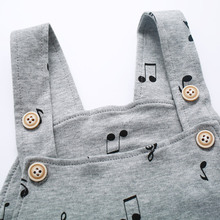 Unisex Button Fly Suspender Pants for Infants & Toddlers