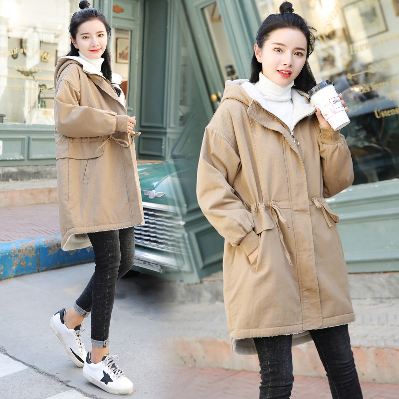 Winter Maternity Cotton Jacket Warm Pregnancy Clothes Fashion Overcoat For Pregnant Women Loose Coats Maternity Clothing