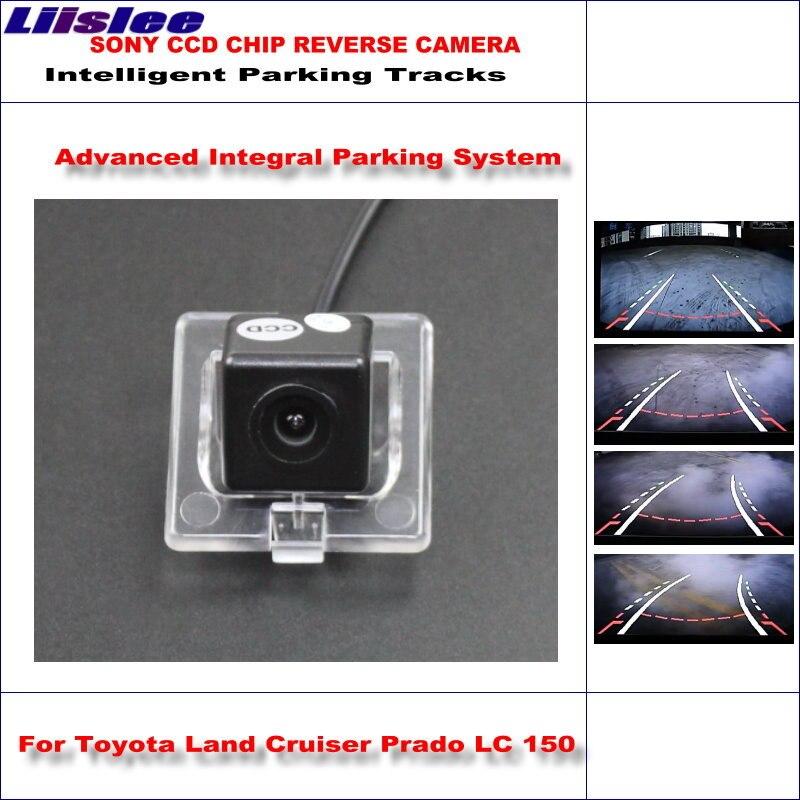 Liislee caméra de recul intelligente pour Toyota Land Cruiser Prado LC 150 LC150 2010 ~ 2014/pistes de guidage dynamiques de caméra