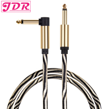 JDR Guitar Cable Professional Instrument 10 ft Cable 1/4