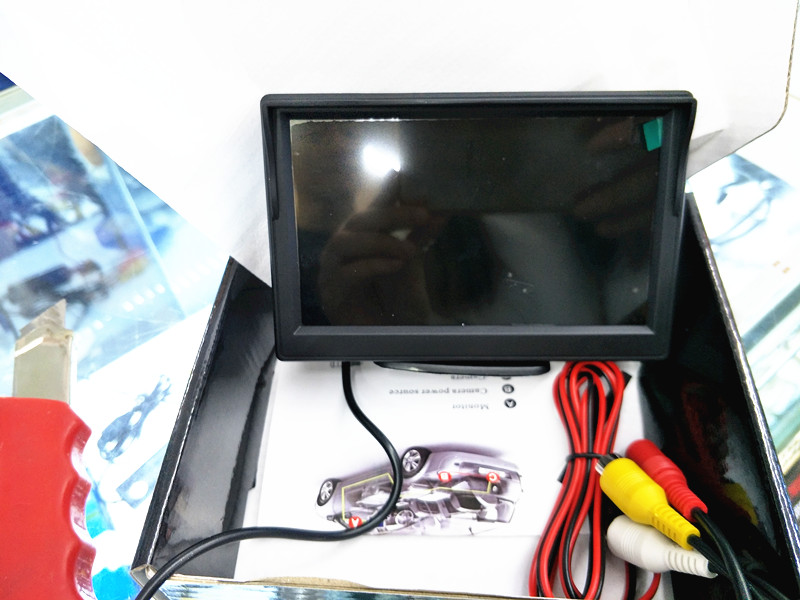 5 inch TFT LCD Audio Video Security Tester CCTV Camera Test Monitor vehicle security system