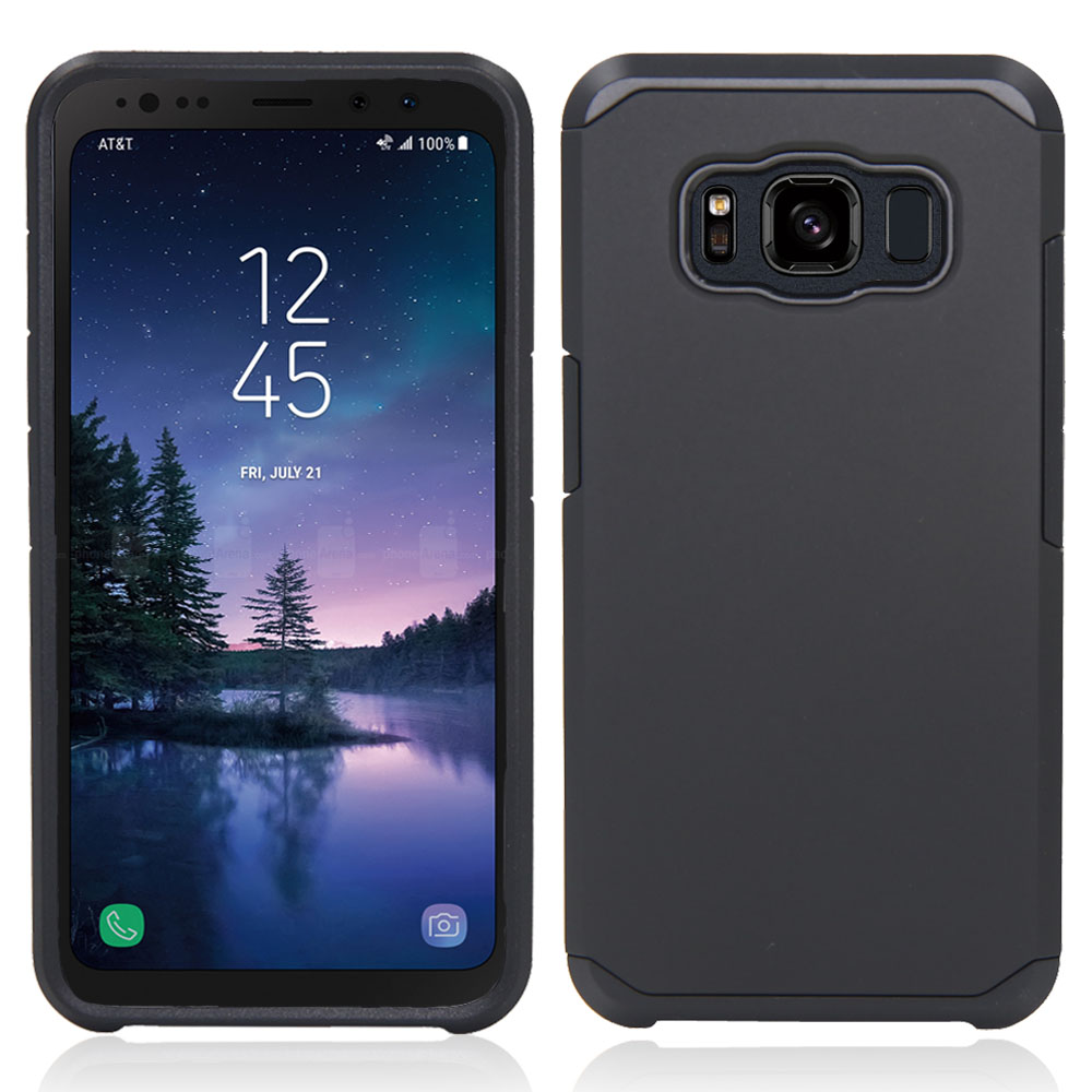 Case For Samsung Galaxy S8 Active 2 In 1 Hybrid Rugged Anti-shock TPU + Hard PC Cover For Samsung Galaxy S8 Active G892F G892A