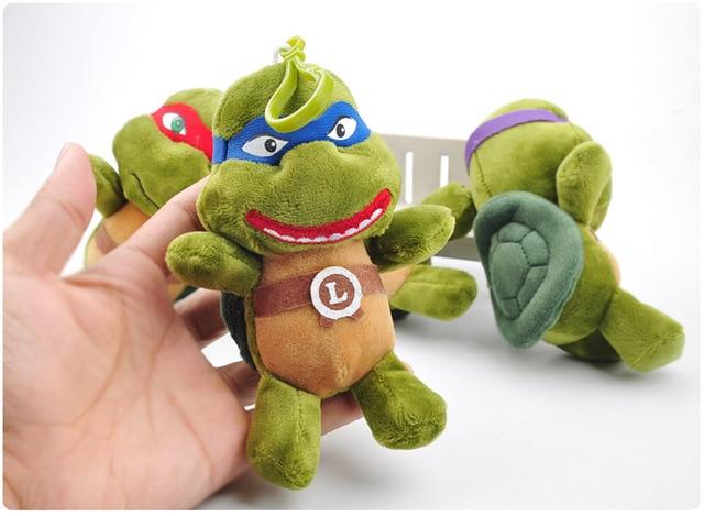 Плюшевые игрушки Черепашки Ниндзя  3