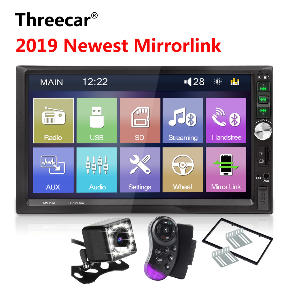 2din Car Radio 7 inch Touch mirrorlink Android Car Multimedia MP5 Player Autoradio Bluetooth Rear View Camera tape recorder2din Car Radio 7 inch Touch mirrorlink Android Car Multimedia MP5 Player Autoradio Bluetooth Rear View Camera tape recorder