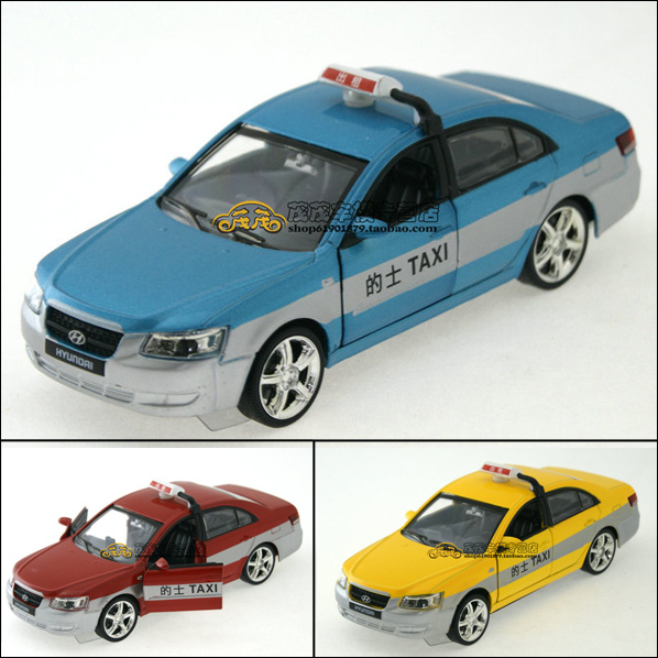 Beijing modern blue red yellow alloy car models acoustooptical