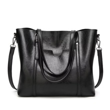 2018 Large Capacity Women Bags Shoulder Tote Bag Women's Lea