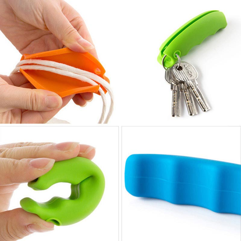 1pcs Convenient Bag Hanging Quality Mention Dish Carry Bags 15g Kitchen Gadgets Silicone Save Effort Accessories In Shredders Slicers From Home