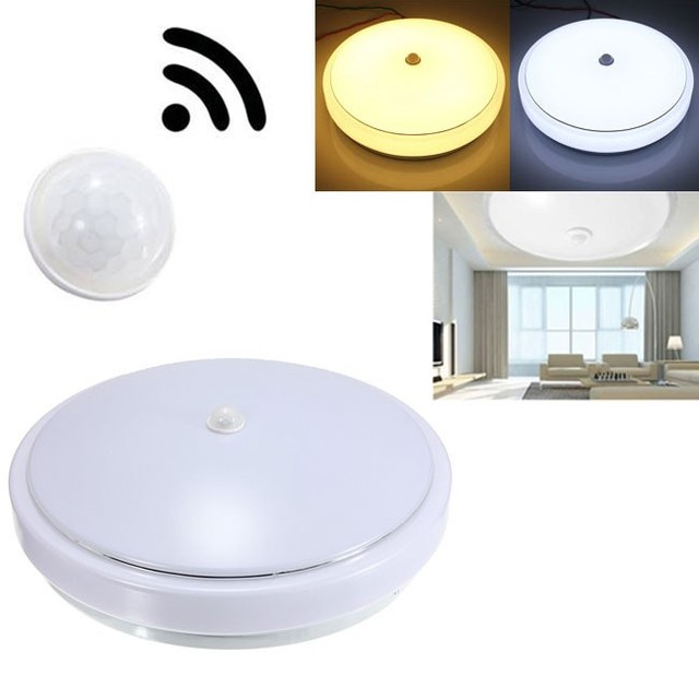 30pcs Led Ceiling Light Household Office Lighting 12w E27 Pir Infrared Motion Sensor Flush Mounted