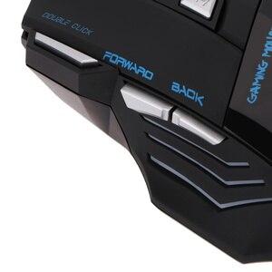 Image 4 - HXSJ 5500 DPI A868 7 boutons LED optique USB filaire souris de jeu souris pour PC ordinateur portable filaire souris de jeu