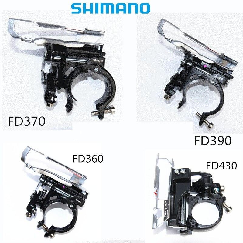 SHIMANO Alivio FD M430 ACERA 390 ALTUS 360 370 3S Speed 42T max MTB Front Derailleur 3*9SPEED