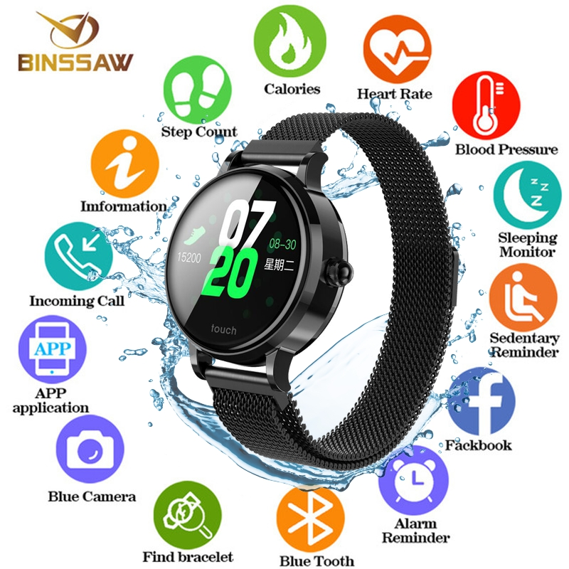 BINSSAW 2019 NEW Smart Bracelet Band With Heart rate Monitor ECG Blood Pressure IP68 Fitness Tracker Wrisatband Smart Watch+BOXBINSSAW 2019 NEW Smart Bracelet Band With Heart rate Monitor ECG Blood Pressure IP68 Fitness Tracker Wrisatband Smart Watch+BOX