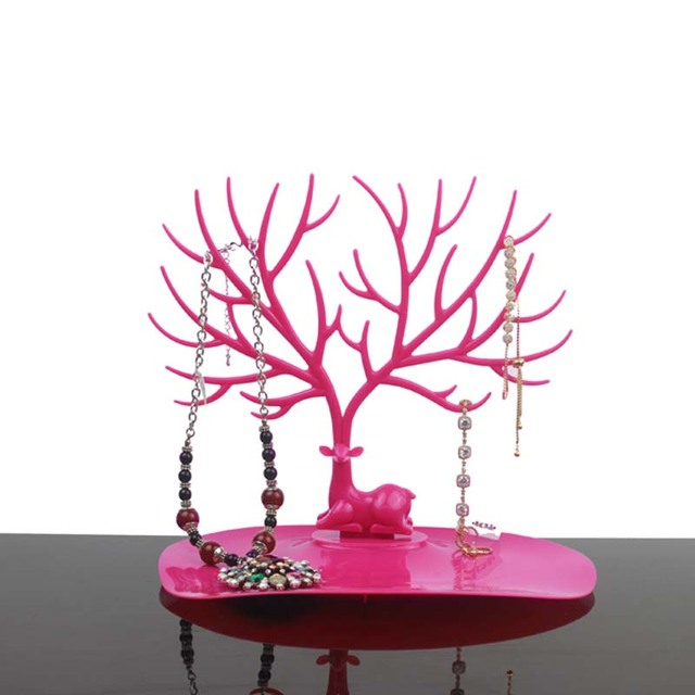Mordoa Little Deer Jewelry Display Stand Tray Tree Storage Racks Organizer Holder 1