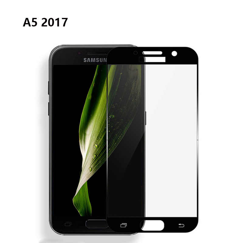 Full Cover For SAMSUNG A3 A5 A7 2016 2017 2018 Tempered Glass Screen Protector For Samsung A310 A510 A710 A320 A520 A720 Glass