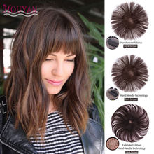 HOUYAN Seamless Invisibility Comfortable of True Hair Top Cover Natural Color Brazilian Remy Hair Three Styles Are Optional(China)