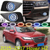 Great Wall Hover H2 fog light;2015~2017 Free ship!Hover H2 daytime light,2ps/set+wire ON/OFF:Halogen/HID XENON+Ballast,Hover H2